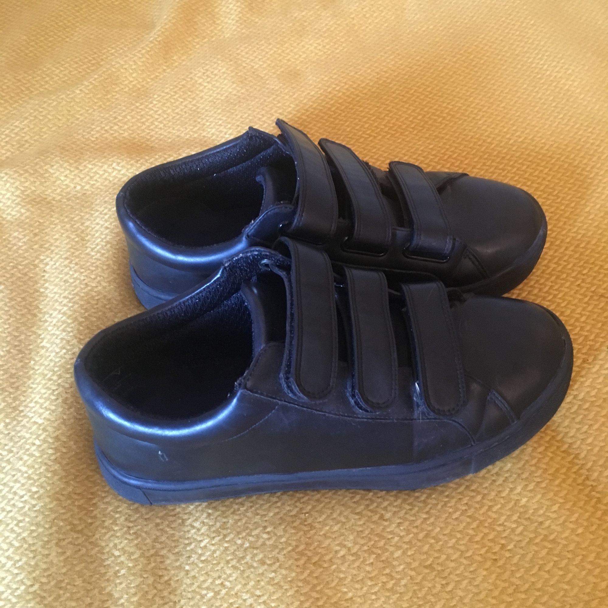 Jättesnygga skor från Monki som tyvärr är lite för stora för mig. Sparsamt använda, köparen betalar frakt!. Skor.