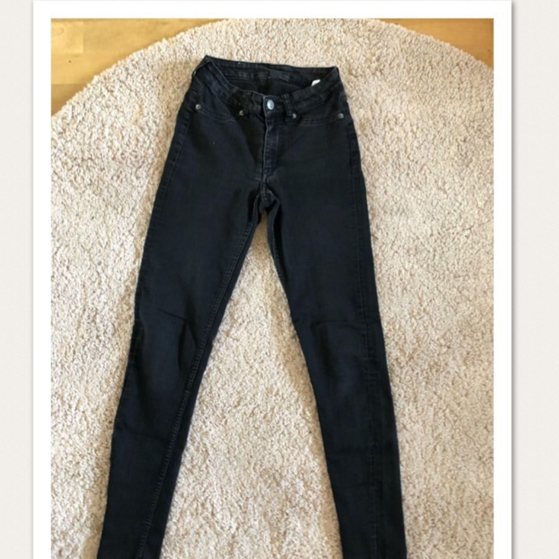 Svarta cheapmonday stretch . Jeans & Byxor.