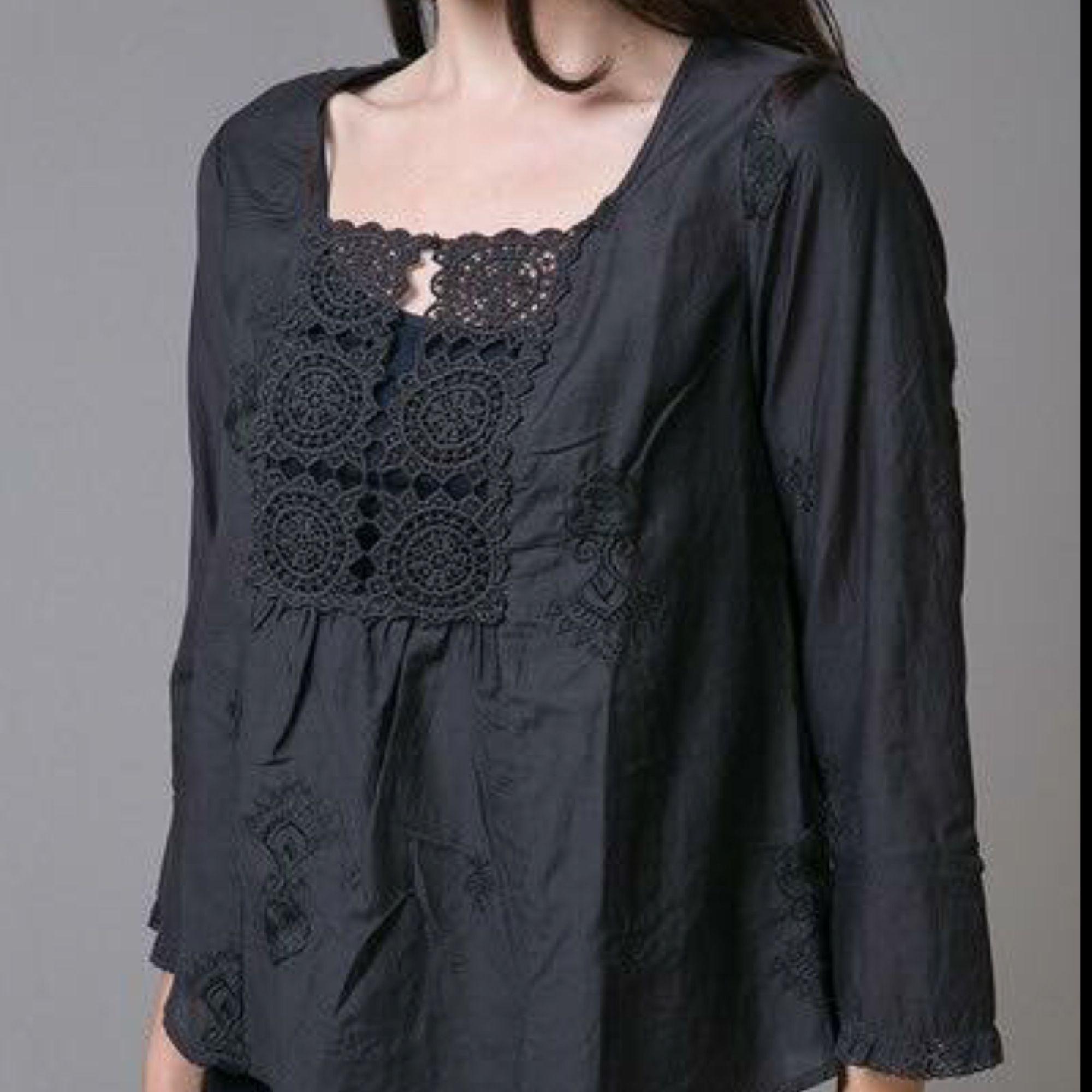 bd1c6e3a6ae5 Odd Molly blus - Cotton silk blouse - Odd Molly Blusar - Second Hand