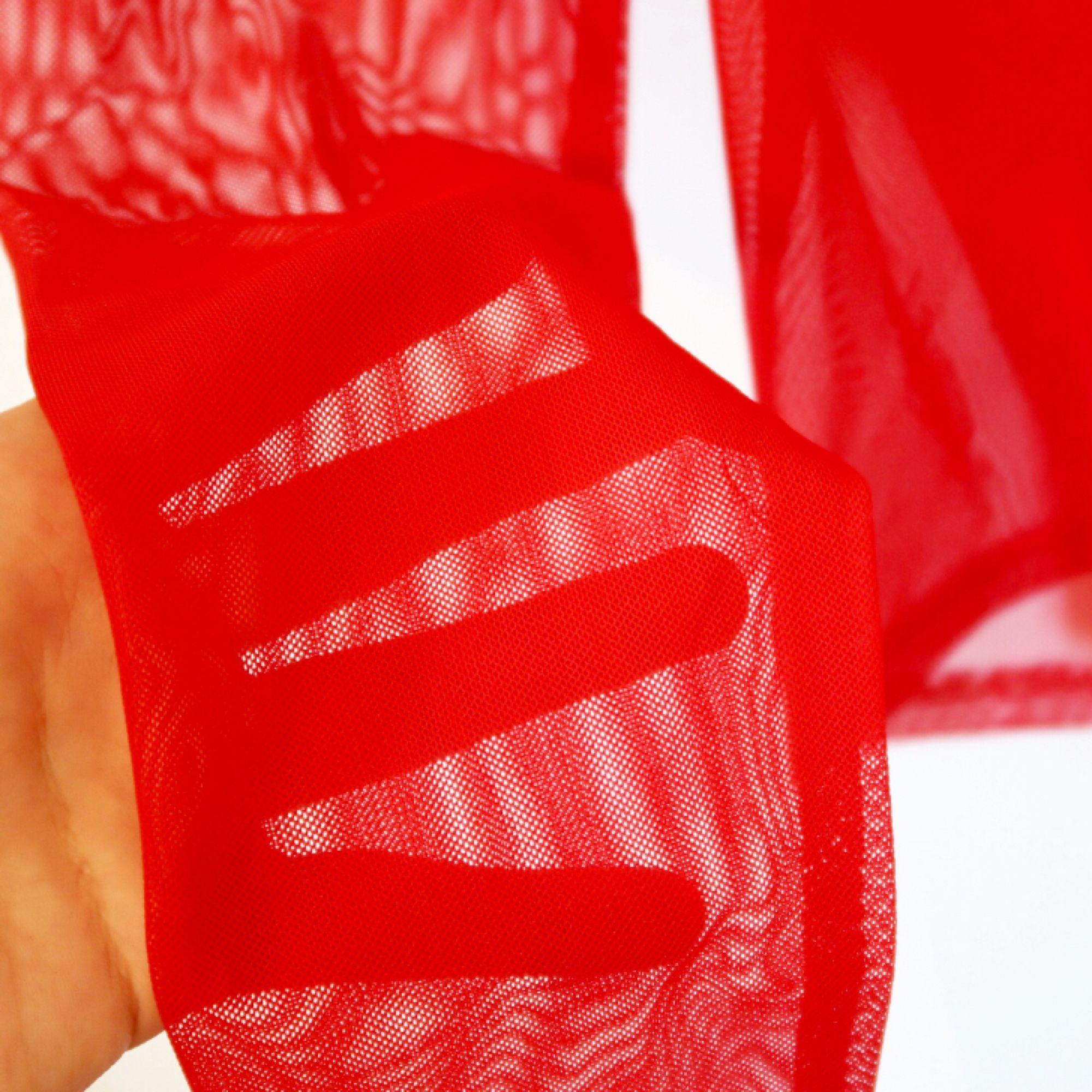Röd mesh tröja från monki, knappt använd! Mkt bra skick . Toppar.