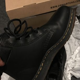 Dr martens37!Used 2 times!i never had martens before and sadly it is not for me:( I can go down with the price LITTLE;)! i keep it in the cupboard like 9month now...as you see i have the box as well! No crack, no scratch!