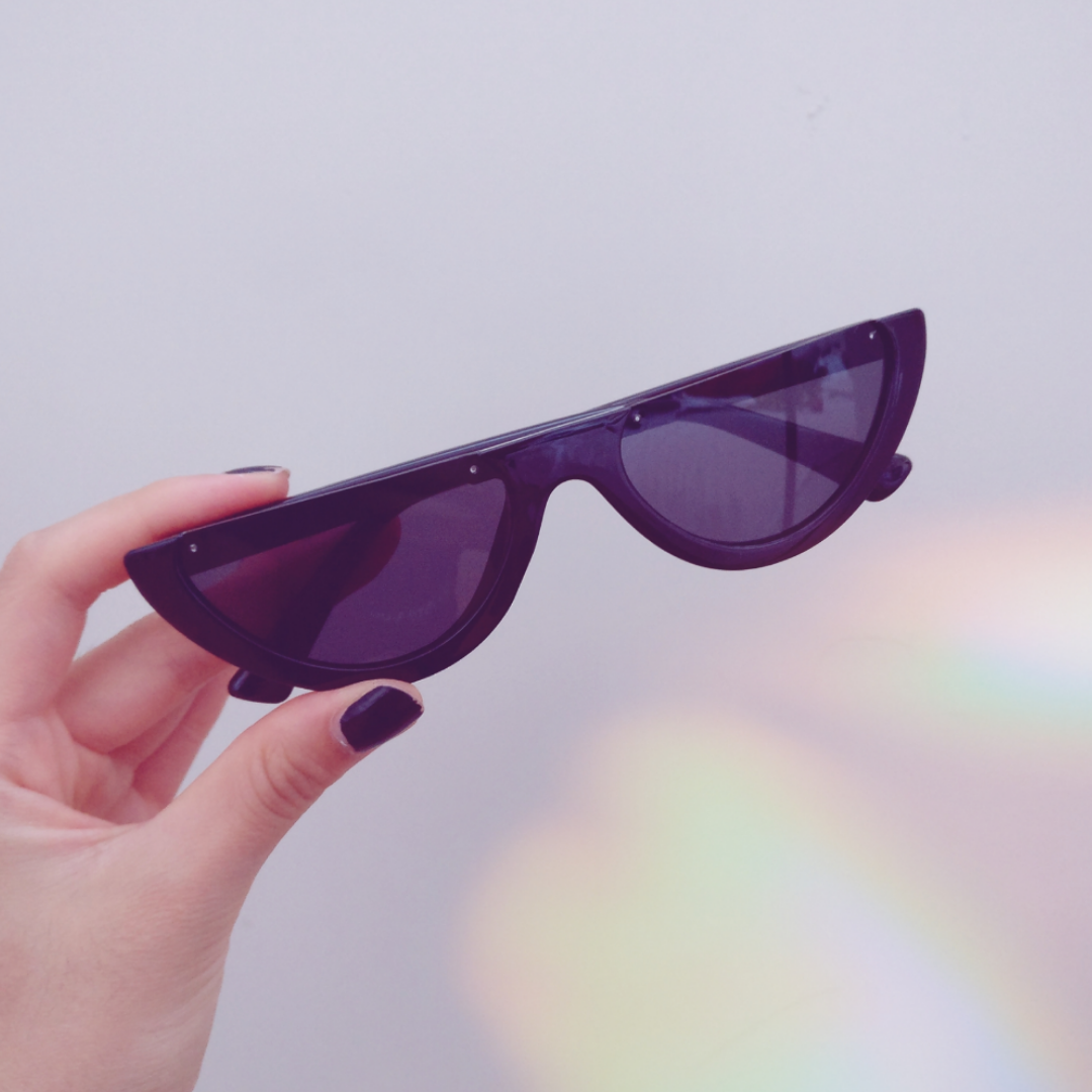 Coola svarta solglasögon oanv - Accessoarer - Second Hand 79759fabd5aca