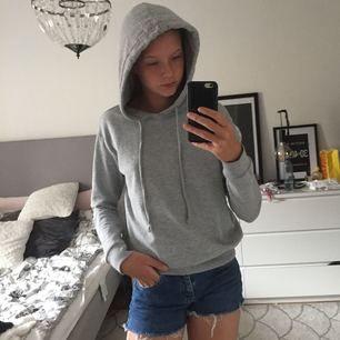 Grå hoodie från hm storlek xs. Inte mycket använd!  Tar swish