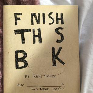 Finish this book, ifylld på första sidan men inte mer än så! Frakt ingår inte❣️