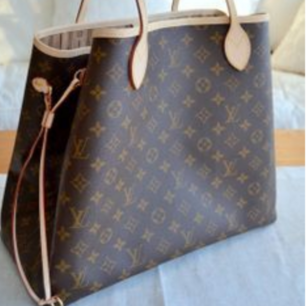 Louis Vuitton  nevetfull  bästa kvalite  AAA kopia Large storlek  Hämtas   Fraktas också  med schenker 60 kr spårbar