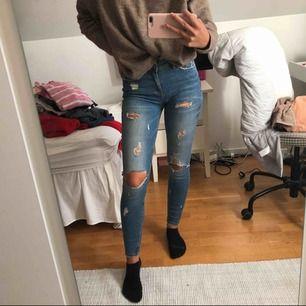 Jättesköna jeans från zara! Kan mötas i Stockholm