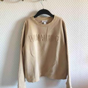 - monki  - beige sweatshirt/collegetröja  - womenkind  - super mysig och varm