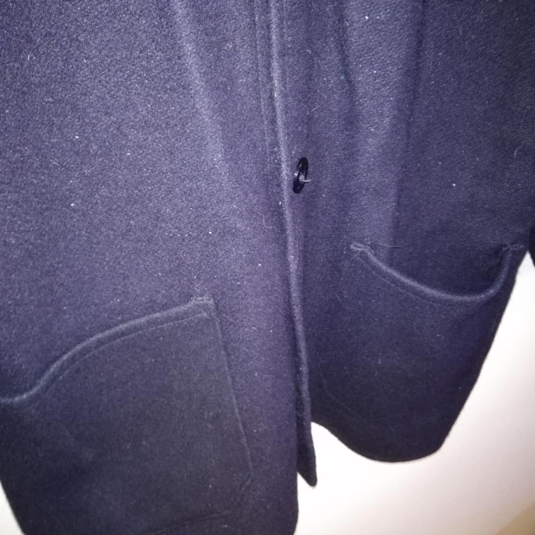 Väldigt fin vintage ullkappa I marinblått 🎉. Jackor.