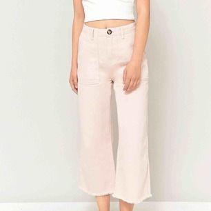 Helt slutsålda, rosa BDG cropped jeans/culottes, jätte sköna och fina, älskar dom men säljer pga att de inte används