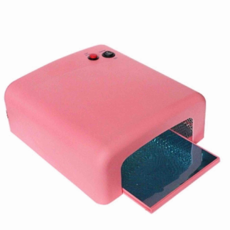 Jag säljer en uv lampa som man gör gele naglar i! Har denna som är på bilden . Accessoarer.