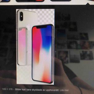 Säljer en iPhone x silver 64gb  Skriv privat för egna bilder Säljer pga ska köpa en ny!  Toppskick