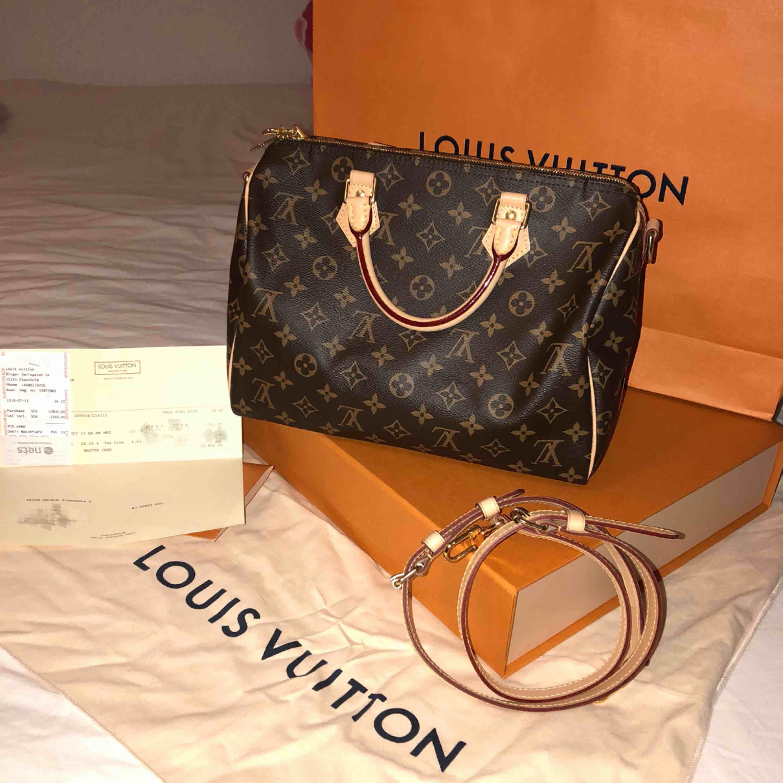 8137fbb92d9cf Louis Vuitton schnelle 30 Monogramm Tasche. Gebraucht wie neu. Original  Louis Vuitton