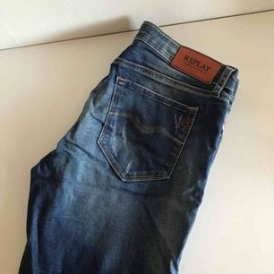 Replay jeans använda en gång. Passar S/M