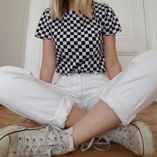 Checkered VANS-Tshirt som endast är använd en gång!