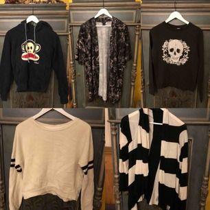 Tröjor, koftor, hoodies till salu, ge bud🌸