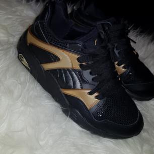 Blaze gold puma skor