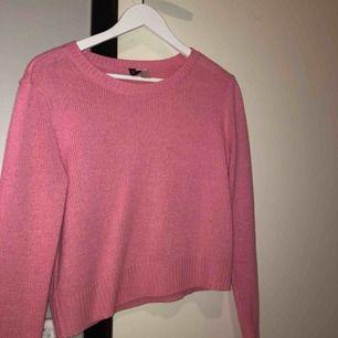 Enkel men fin stickad tröja (: