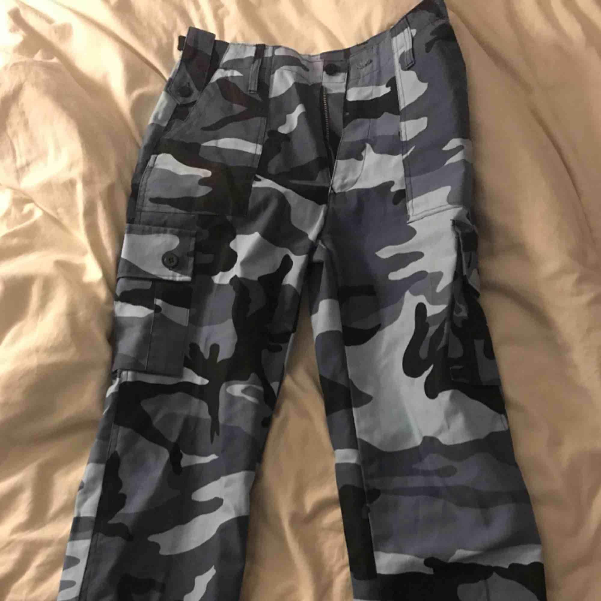 Camoflage byxer i bra skick. Jeans & Byxor.