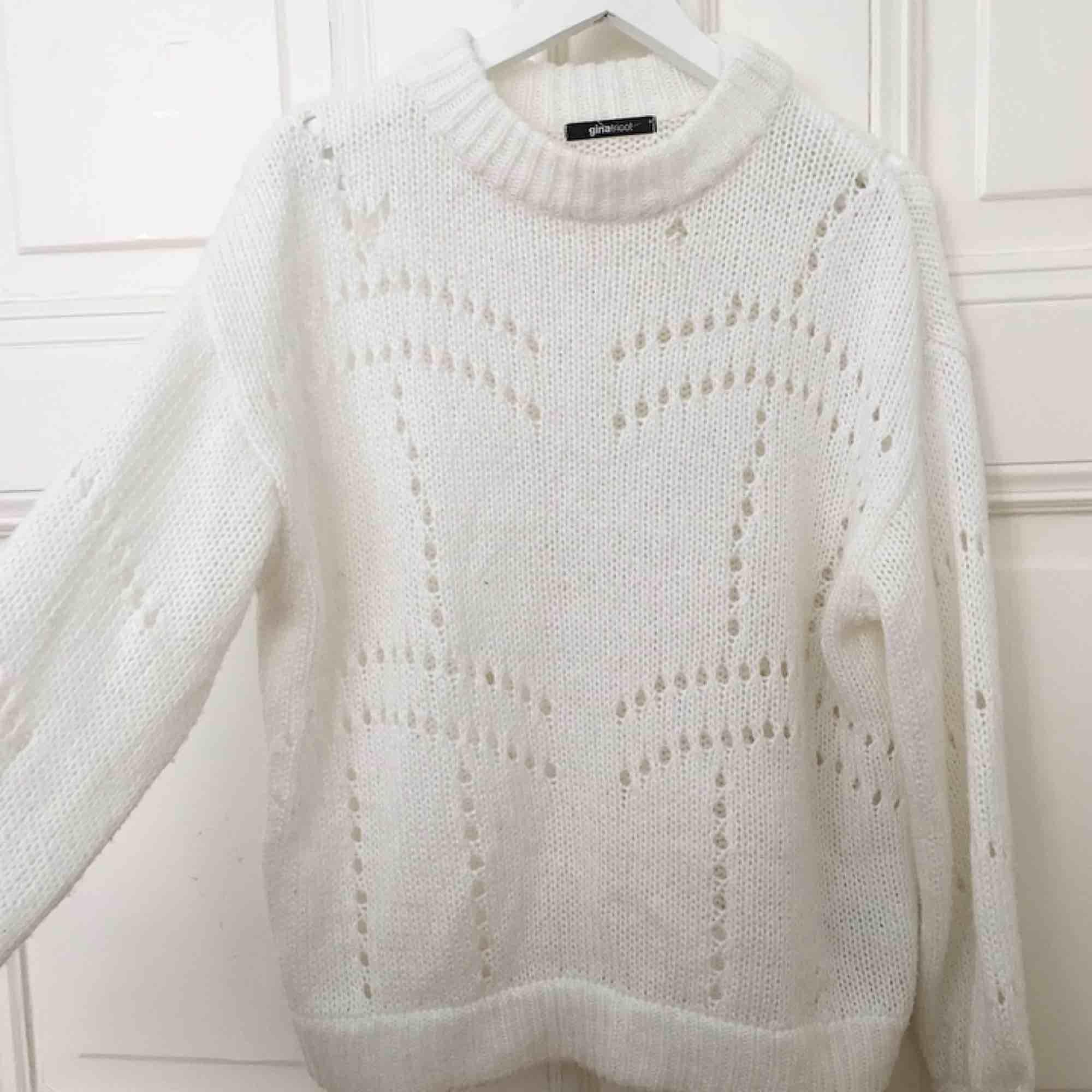 Super skön och mysig tröja från Gina Tricot i toppen skick! Storlek m . Tröjor & Koftor.
