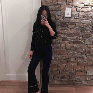 Striped pants i nyskick | aldrig använd | färg : navy