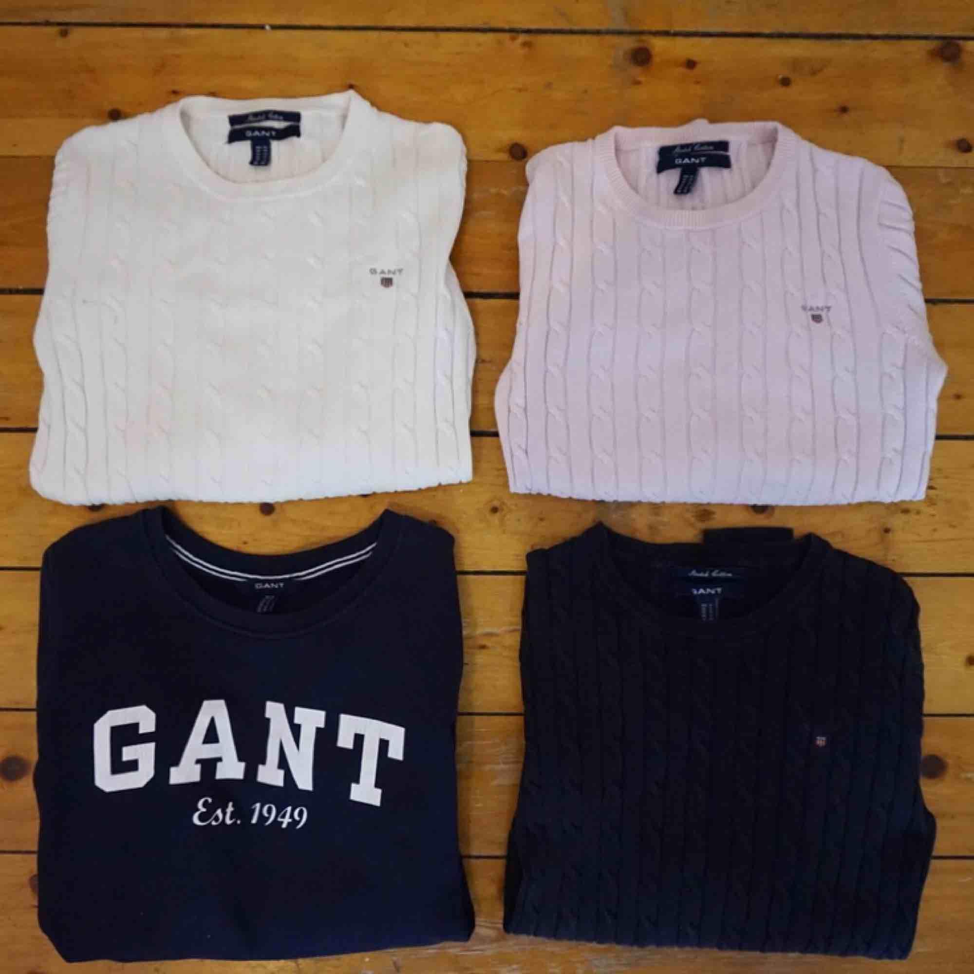 Säljer mina fina Gant Tröjor som är i toppen skick! 300:- kr styck eller alla för 1000:- kr Storlekar S-XS 🤗. Tröjor & Koftor.
