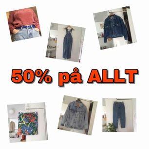 50% på alla mina annonser!☕️🍁🍂🧣