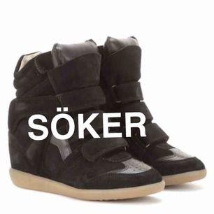 Söker dessa Isabel Marant sneakers, färg spelar ingen roll! Hör av er💗💗