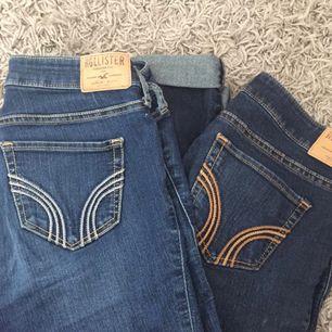 2st Hollister jeans, 1 par för 100 båda för 180
