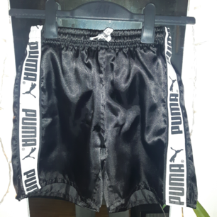 Svarta Puma shorts som tyvärr blivit för små. Frakt tillkommer