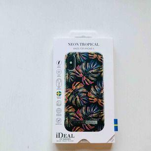 Mobilskal iPhone X, Neon tropical, Ideal of sweden. Aldrig använd, levereras i orginalförpackning. FRAKT INGÅR!