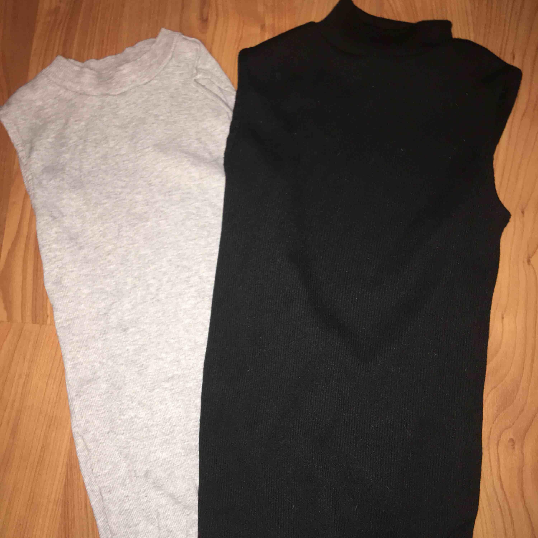 oanvända två kortärmade stickade tröjor med krage 50kr för båda plus frakt. Toppar.