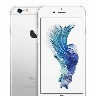iPhone 6s i bra skick. 16 GB utrymme och är låst till 3! Skriv privat så kan jag fixa ytterligare bilder. Priset kan diskuteras.