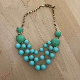 Fint turkost halsband inköpt från jeweliq.com USA. Frakt 19 kr 🌿