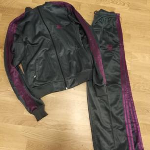 Adidas jacka +byxor använda 2-3 ggr