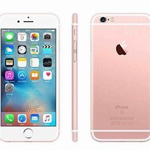 Fullt fungerande iPhone 6s, orginalskärm utan sprickor eller repor, väldigt varsamt använd!:)