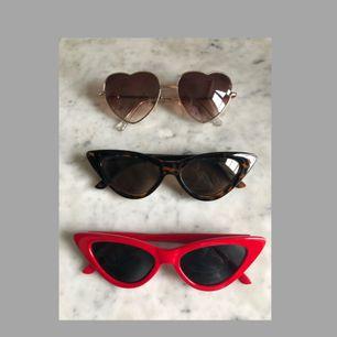 Solglasögon x 3, nyskick!  150kr för alla