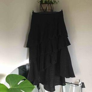 volangkjol från nakd, strl s passar även m! använd endast fåtal ggr, kan mötas upp runt gnosjö/värnamo och i jönköping måndag-fredag, behövs den skickas, står köparen för frakt:)
