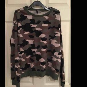 militär tröja från h&m