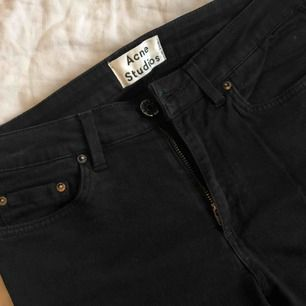 Black Acne jeans in skinny fit