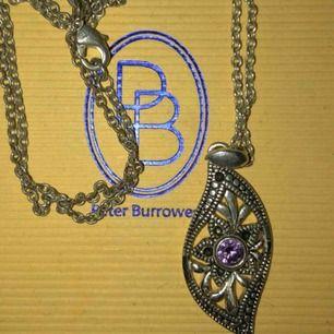 Silver halsband. Swarovski sten i. 💕