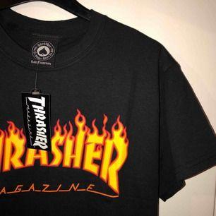 Helt ny Thrasher t-shirt, aldrig använd. Nypris 399kr