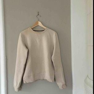 Fin beige-rosa sweatshirt, storlek 38/M