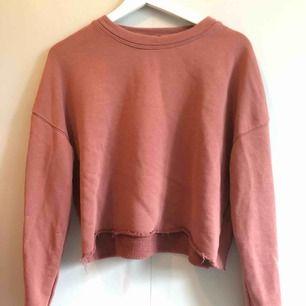 Sweatshirt från Bikbok i storlek M, använd typ 3 gånger. Köparen betalar frakten, hund finns i hemmet.