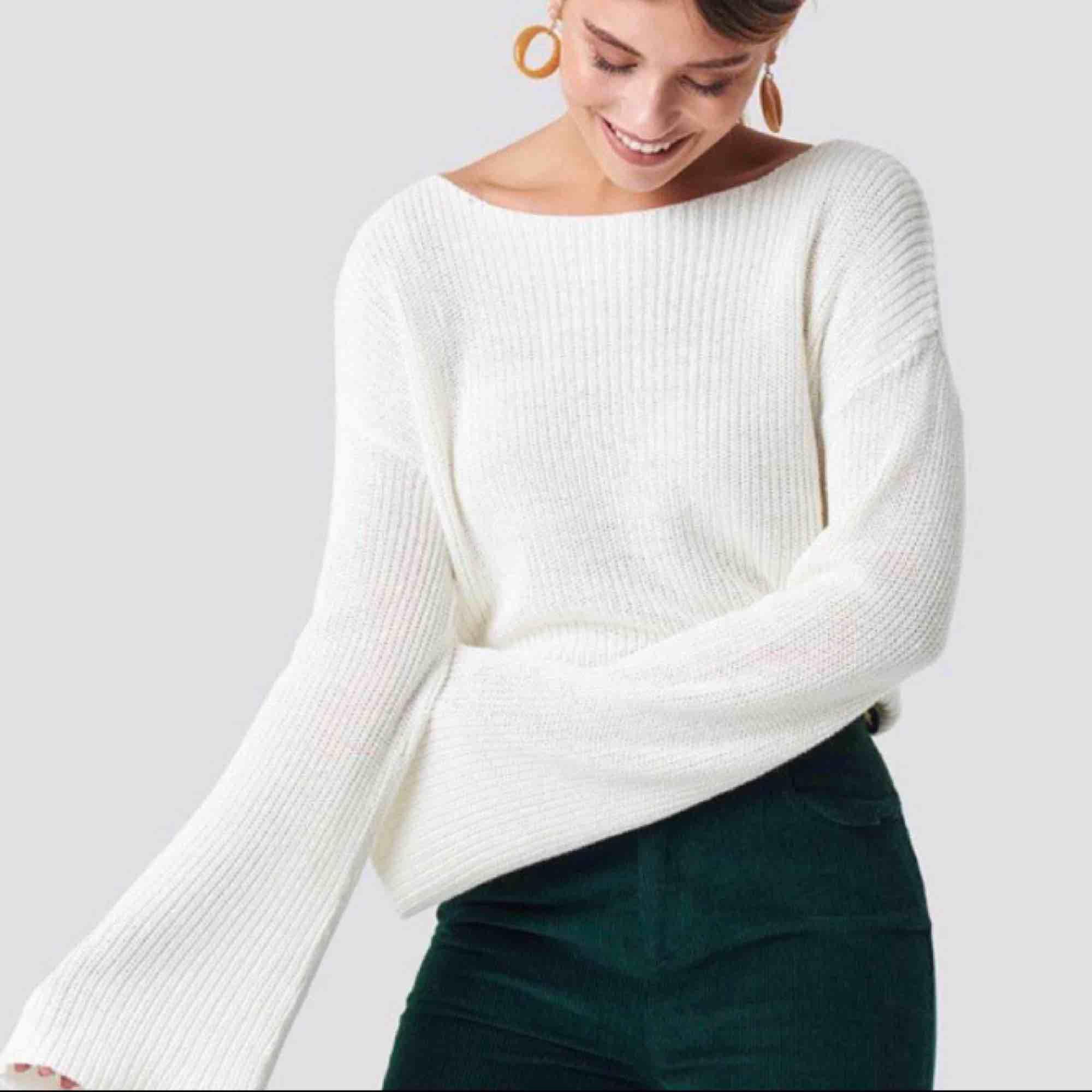 Stickad tröja från NAKD, använd få gånger. Tröjor & Koftor.