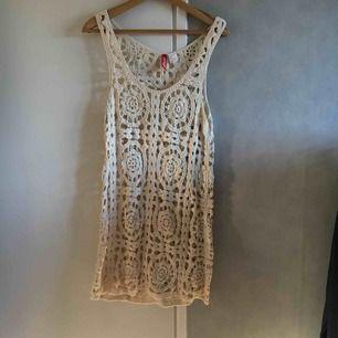 Virkad klänning från hm🌸