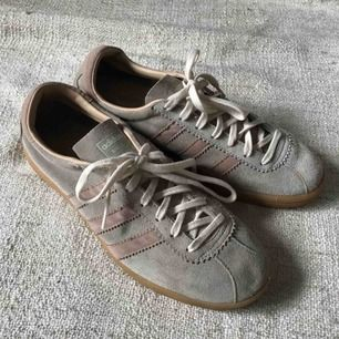 Cute grey/pink adidas. Fits like a 41. Unisex size. Worn once.
