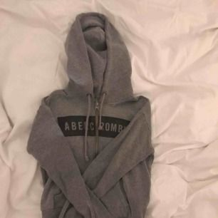 Abercrombie zip hoodie, cropped
