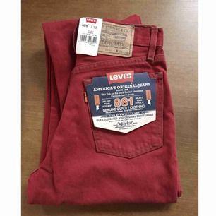 levis jeans oanvända supersnygga i passformen. (modell 881)