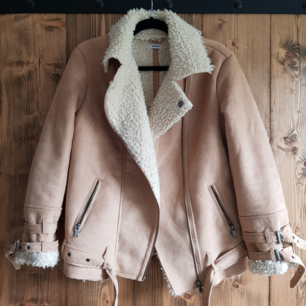 Fur biker Coat/jacka