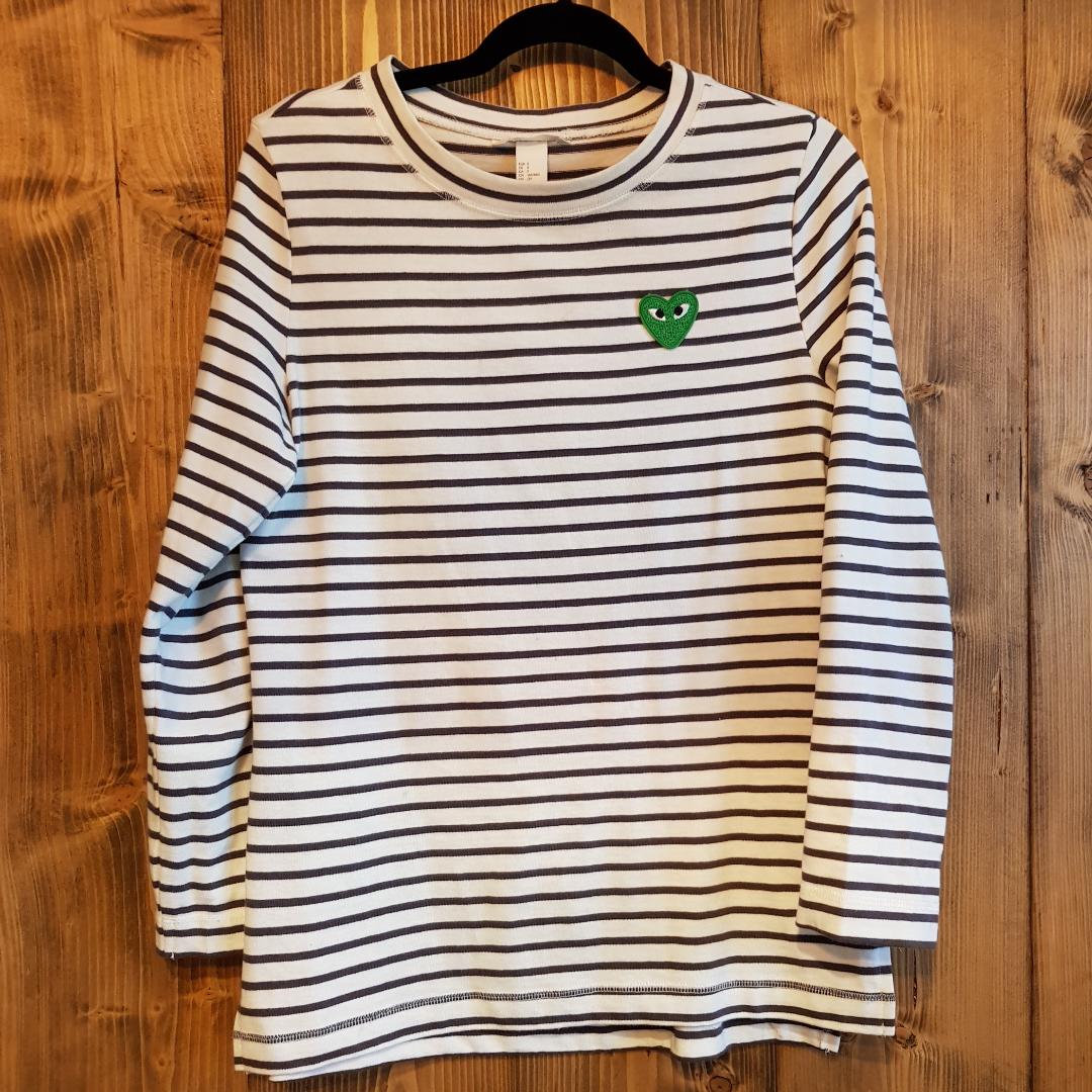 Stripey Sweatshirt. Huvtröjor & Träningströjor.